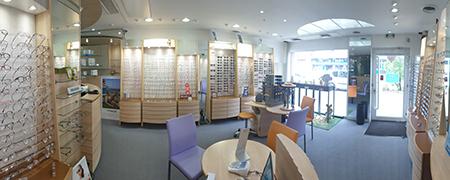 Magasin de lunettes à Seclin